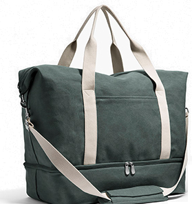 THE CATALINA DELUXE LARGE LARGE CANVAS WEEKENDER